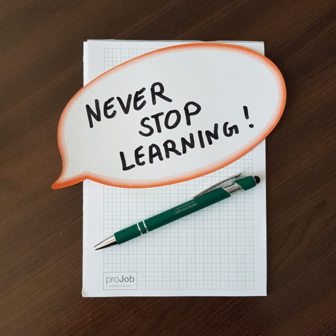 Never Stop Learning 678x678 1