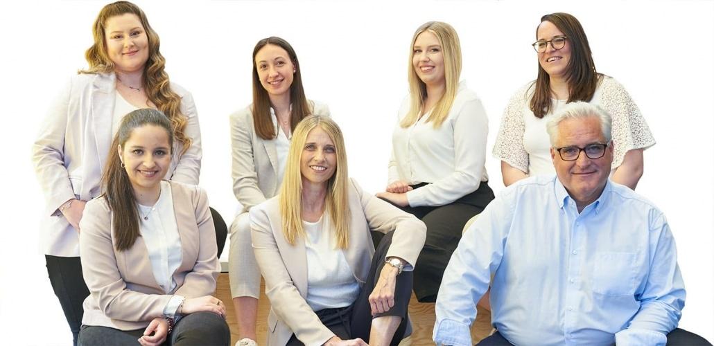 proJob Teamfoto - alle Mitarbeiter