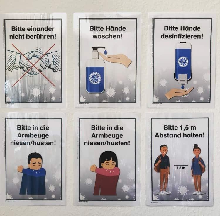 Hygieneregeln